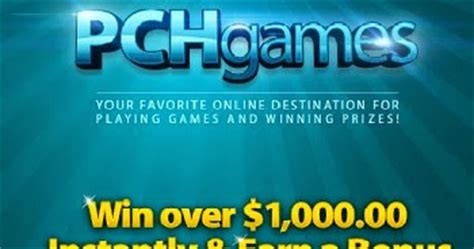 pchgames free online games sweepstakes and prizes upcomingcarshq com - Instant Win Sweepstakes Online Free