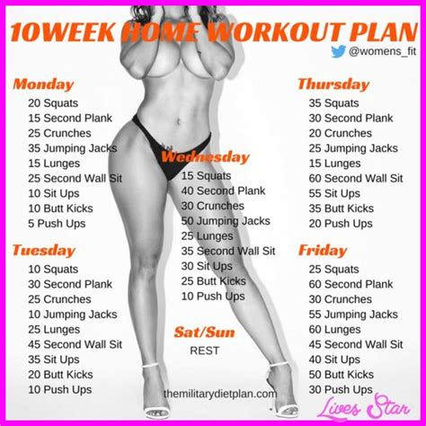 lose weight fast exercise plan at home 10 exercises routine for weight loss at home livesstar com