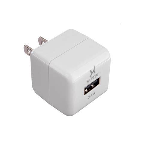2 4 usb charger xuma 2 4a usb charger with folding prongs ucac 124 b h photo