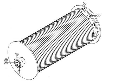warn x8000i winch parts diagram within warn m6000 winch