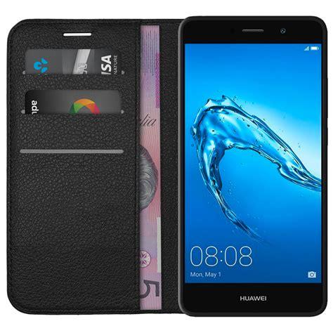 Huawei Y7 Casing Wadah Belakang Back Kasing Design 048 leather wallet card holder pouch huawei y7 black
