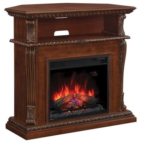 modern corner electric fireplace corinth wall corner tv stand with 23 quot electric fireplace