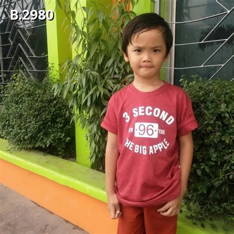 T Shirt Three Second Kaos 3second Baju 3second kaos 3second anak b 2980 home