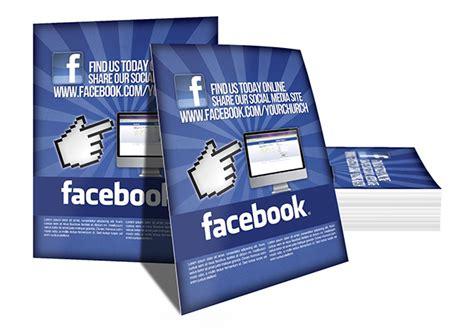 find us on template social media information flyer digital316 net