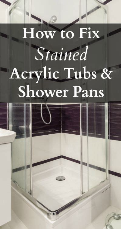 how to clean acrylic bathtub stains 21 best images about renovation project on pinterest