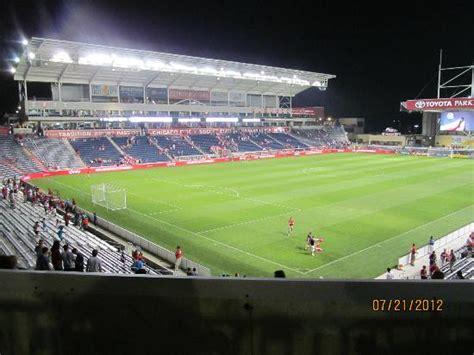 Hotels Near Toyota Park Chicago The Pitch Picture Of Toyota Park Bridgeview Stadium