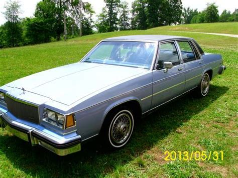 1984 buick lesabre sale buy used 1984 buick lesabre limited sedan 4 door 3 8l low