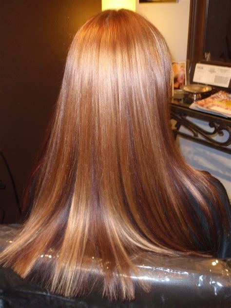 natural red lowlights with blonde highlights natural red hair with highlights www pixshark com