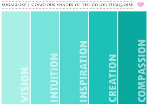 shades of teal paint colors shades of teal shades and teal