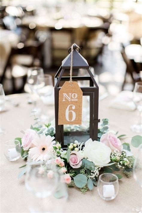 wedding table number ideas 18 inspiring wedding table number ideas to oh best