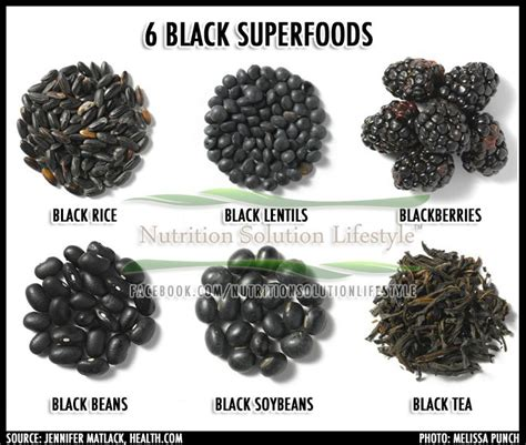 Do You About Black Foods 2 by 6 Black Superfoods Health Anti Aging Wellness