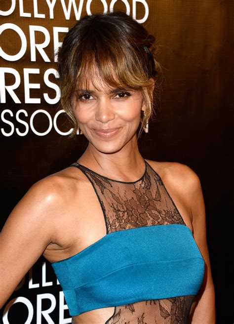 Halle Berry by Halle Berry 2015 Foreign Press Association