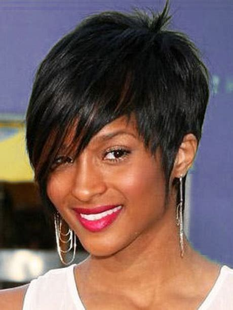 short afro hairstyles for round faces short hair styles for black women with round faces