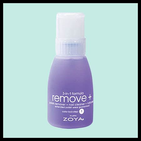 Make Up Remover Zoya cruelty free vegan nail remover