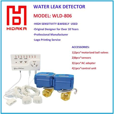 home security water leak detector wld 806 hidaka