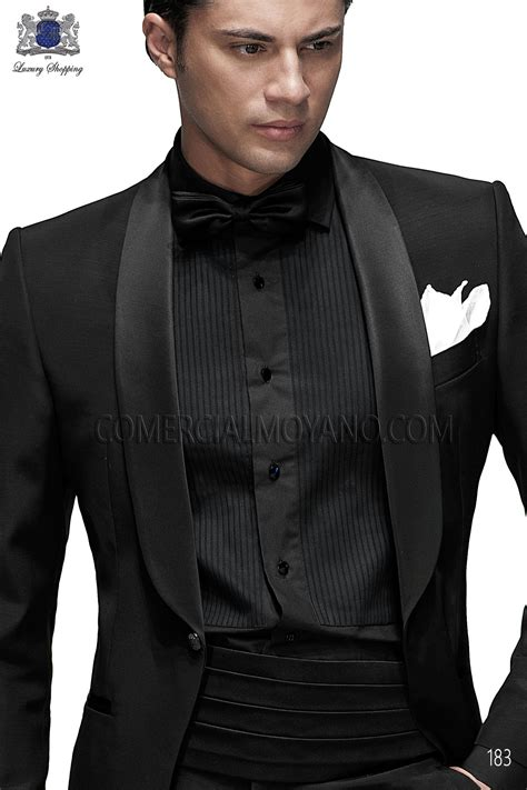 all black all black wedding suit dress yy