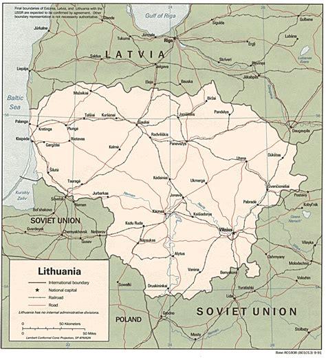 lithuania world map free lithuania maps