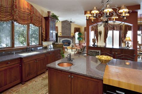 Kitchen Sink Window Treatments Traditional Window Treatment For Above The Kitchen Sink Interior Design Window Treatments