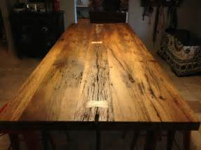 Floor Coverings Kitchen - reclaimed white oak table with butterfly bowtie inlays porter barn wood