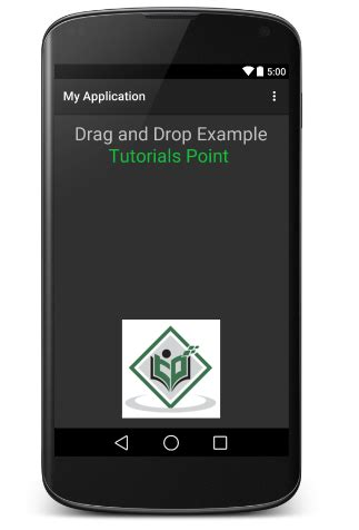 tutorial android drag and drop android drag and drop