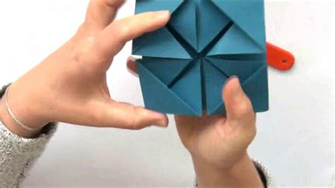 Carte Origami - comment faire une carte en origami