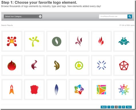 graphicsprings free online logo maker