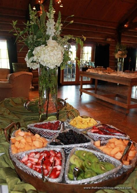 Organic And Garden Style Tall Buffet Table Floral Buffet Table Setting Arrangement