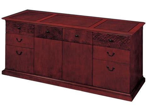 Office Credenza File Cabinet mar executive office credenza file cabinet dmo 20 credenzas