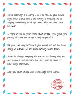 printable naughty letter from elf on the shelf letter from elf to naughty kid free printable when your