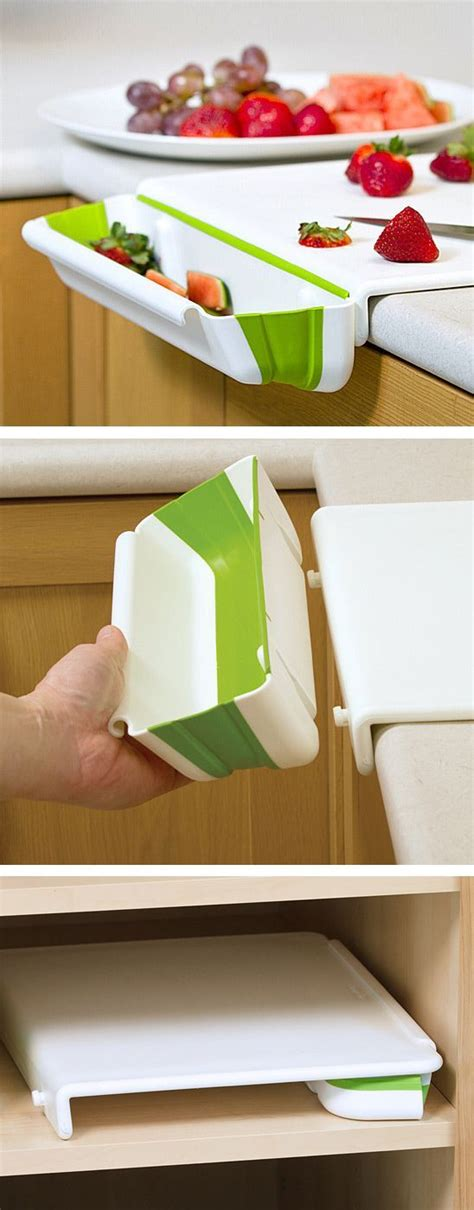 cutting board drawer above trash can pull out cutting board over trash can picmia