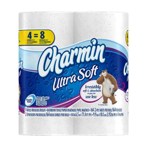 What Company Makes Charmin Toilet Paper - charmin ultra soft toilet paper 10 packs of 4