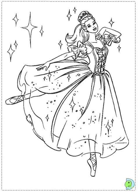 barbie nutcracker coloring pages az coloring pages