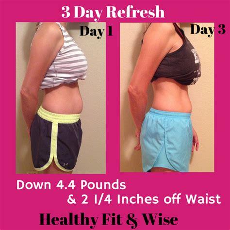 3 Day Detox Results by My 3 Day Refresh Results Beachbody Shakeology Cleanse