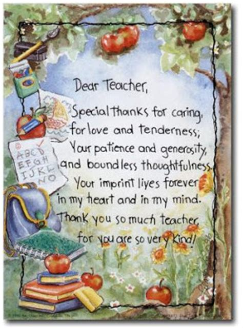 Thank You Letter For Teachers Day The Wonderful Words S Day Quotes