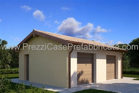 prezzo box auto prefabbricati garage prefabbricati in muratura pannelli termoisolanti