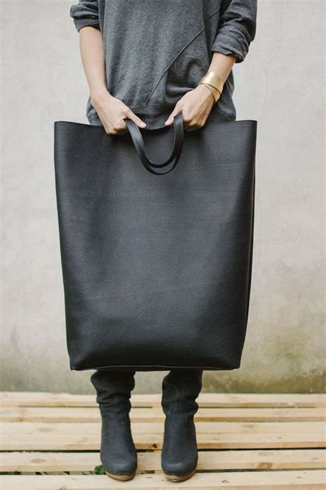 Clutch Tas Hm Original black oversized tote bag patkas bag original