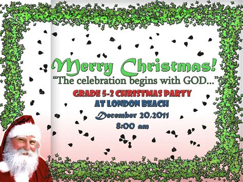 layout for christmas party christmas party tarpaulin design gracielanne