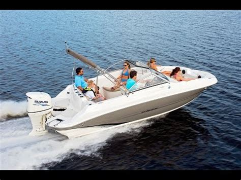 deck boats youtube stingray 201dc deck boat youtube