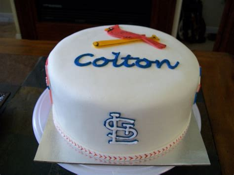 st cake st louis cardinals cake cakecentral