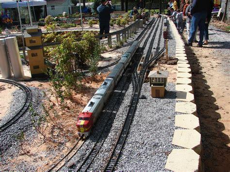 backyard railroads garden railroads on pinterest garden railroad model