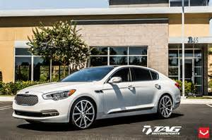 2015 kia k900 shows potential with custom vossen