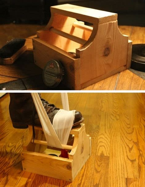 diy shoe shine box shoe shine box diy easy diy gift world