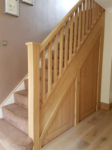 Engineered Oak Flooring and Matching Oak Staircase.