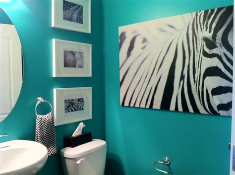 teal powder room teal powder room it all started with the big ikea zebra