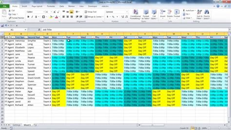 excel work plan template 12 free excel documents download free