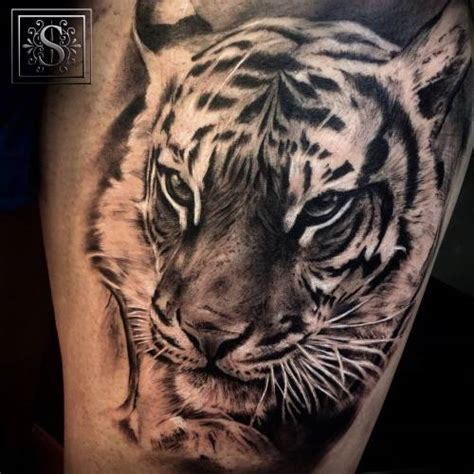 imagenes de tatuajes realistas de animales tatuajes de tigres tumblr