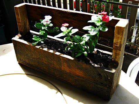 Wood Pallet Planter Box by The Re Workshop Wall Mounted Planter Box Wood Pallet