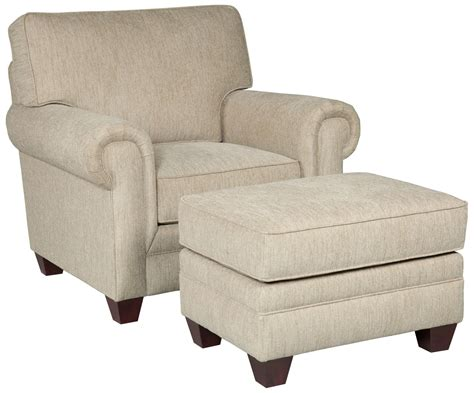 broyhill chair and ottoman broyhill furniture monica transitional upholstered chair