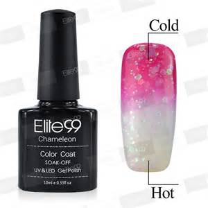 color changing nail gel 10ml temperature change color gel nail 9037 elite99