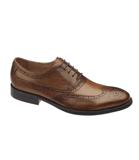 tyndall wing tip shoe by johnston murphy traditional